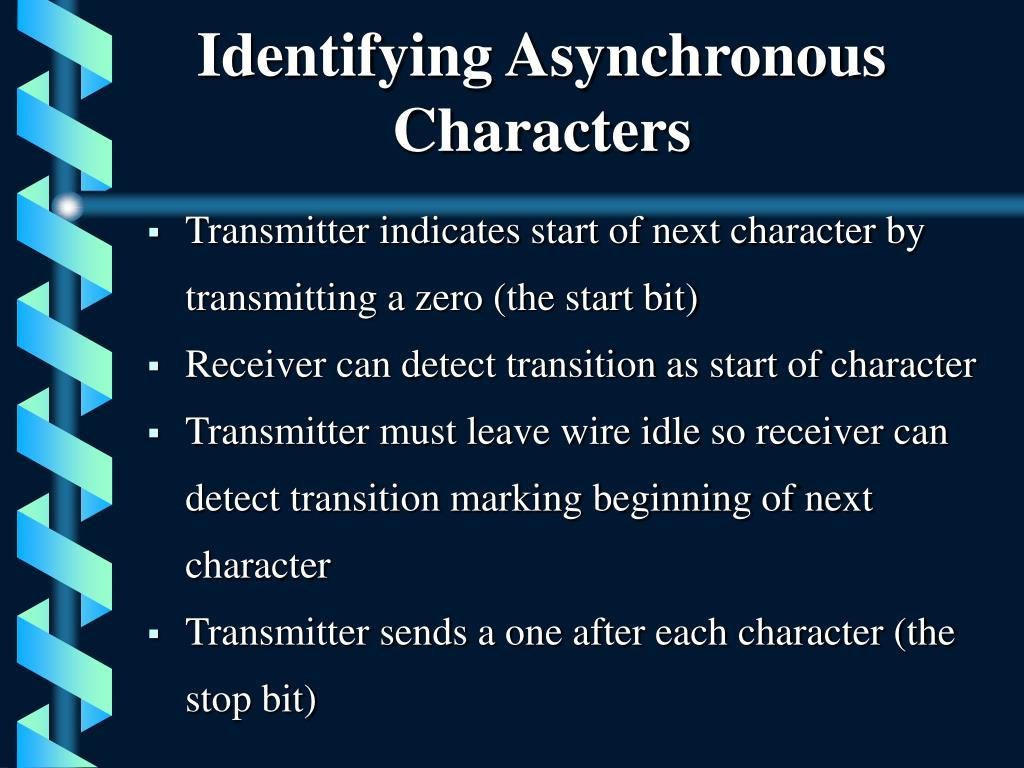 Identifying Asynchronous Characters