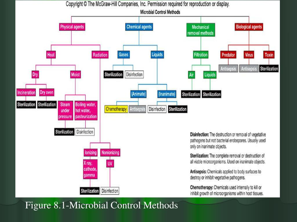 Figure 8.1-Microbial Control Methods