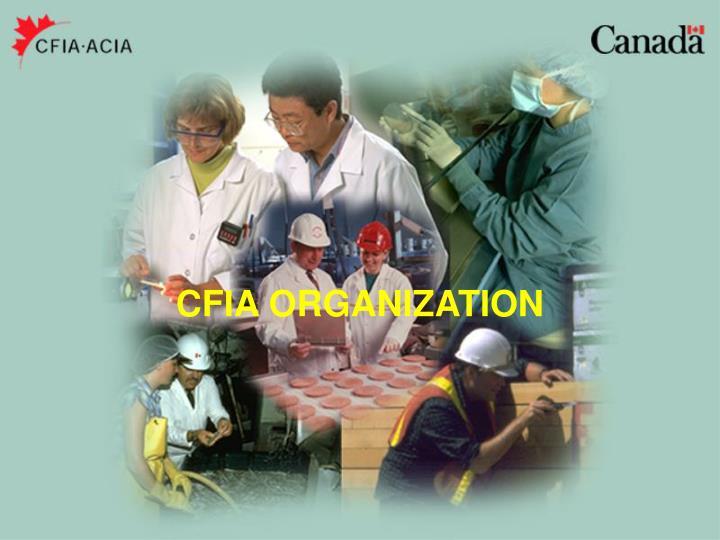 CFIA ORGANIZATION