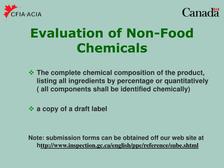 The complete chemical composition of the product, listing all ingredients by percentage or quantitatively  ( all components shall be identified chemically)