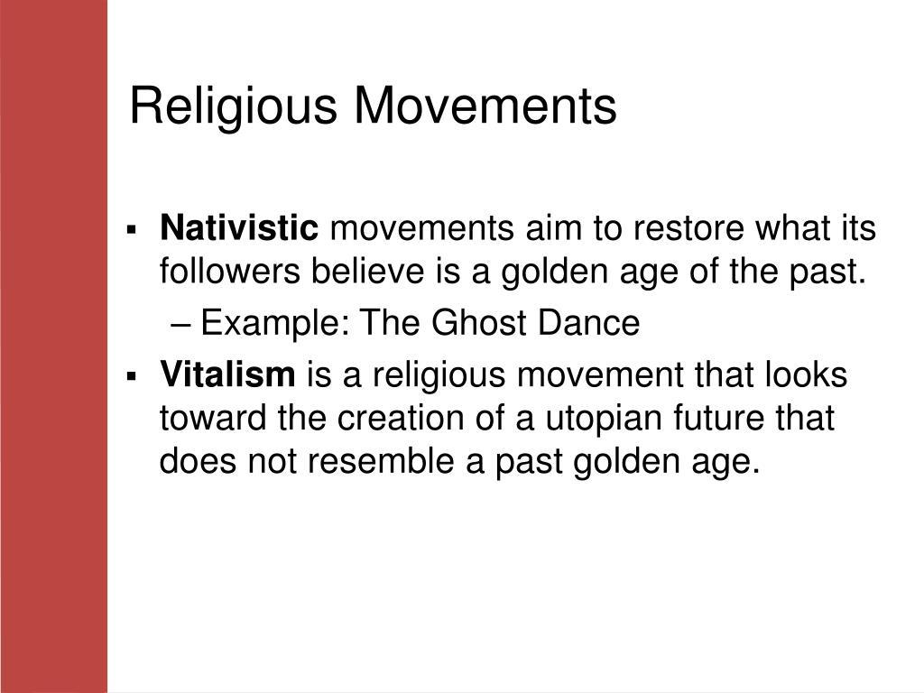 Religious Movements