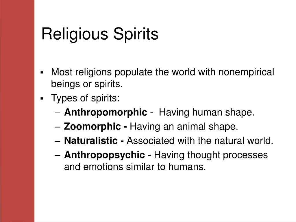 Religious Spirits