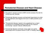 periodontal disease and heart disease