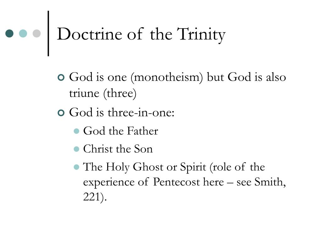 Doctrine of the Trinity