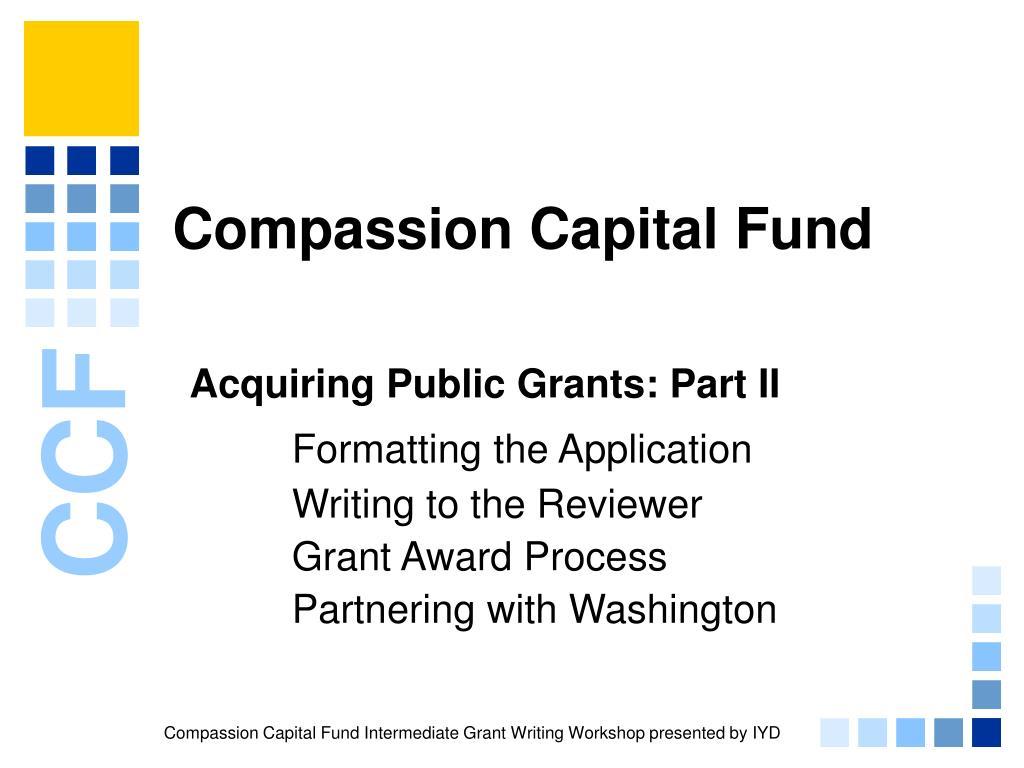 compassion capital fund l.