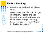 faith funding41