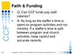 faith funding48