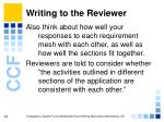 writing to the reviewer24