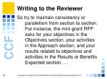 writing to the reviewer25