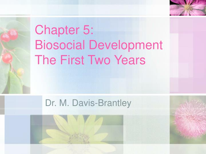 chapter 5 biosocial development the first two years n.