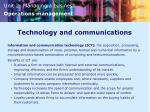 technology and communications