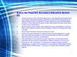 before the tripartite secondary education system 2