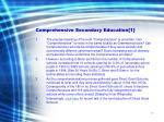 comprehensive secondary education 1