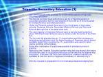 tripartite secondary education 1