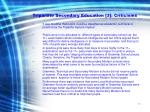tripartite secondary education 3 criticisms