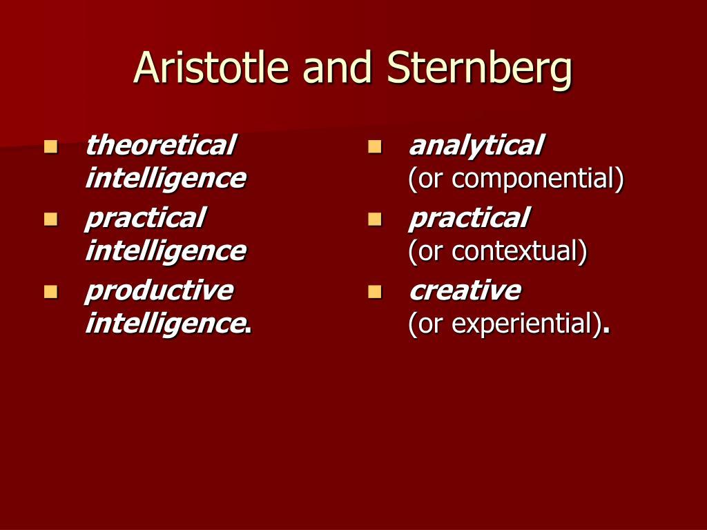 theoretical intelligence