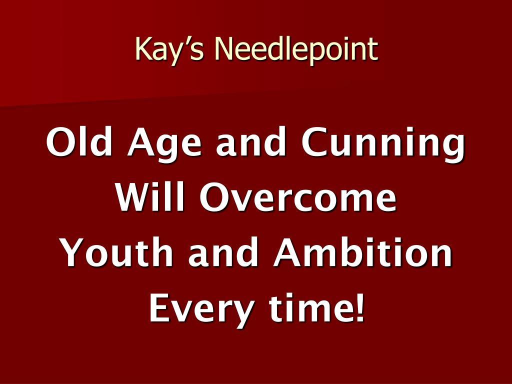 Kay's Needlepoint