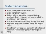 slide transitions
