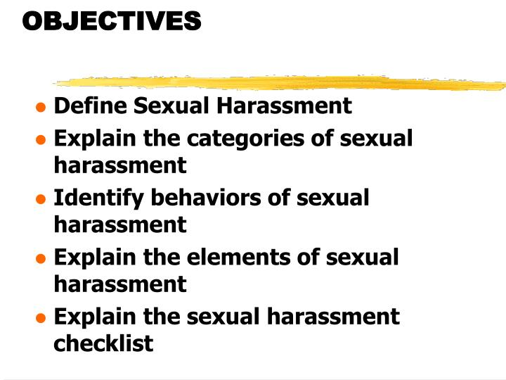 defining sexual harassment and identifying its root causes in the society Sex, gender & sexuality overview sexual harassment remains a common occurrence in society according to the us equal employment opportunity as women gain greater equity in the workplace, it might be assumed that the instances of sexual harassment in the workplace would diminish.