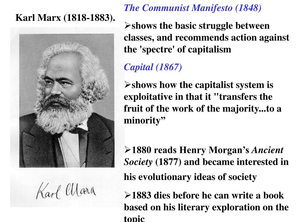 The Communist Manifesto (1848)