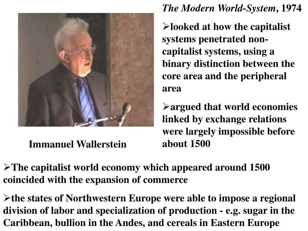 The Modern World-System