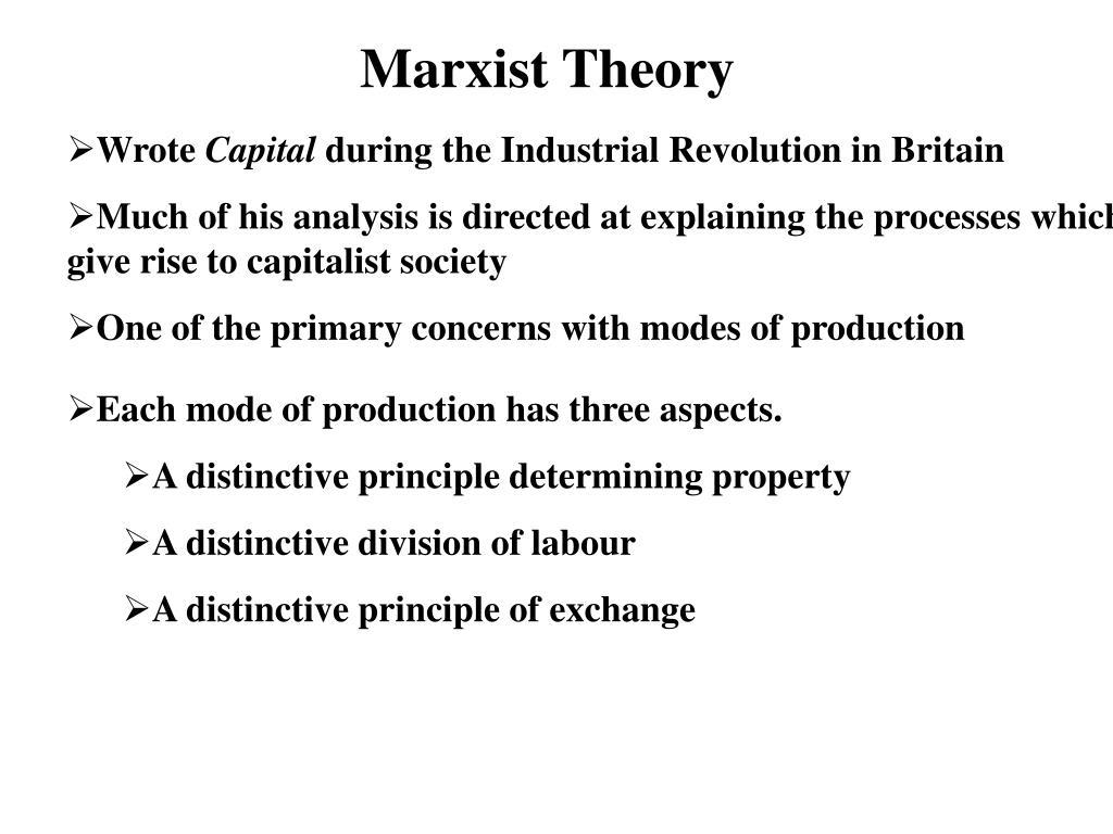 Marxist Theory