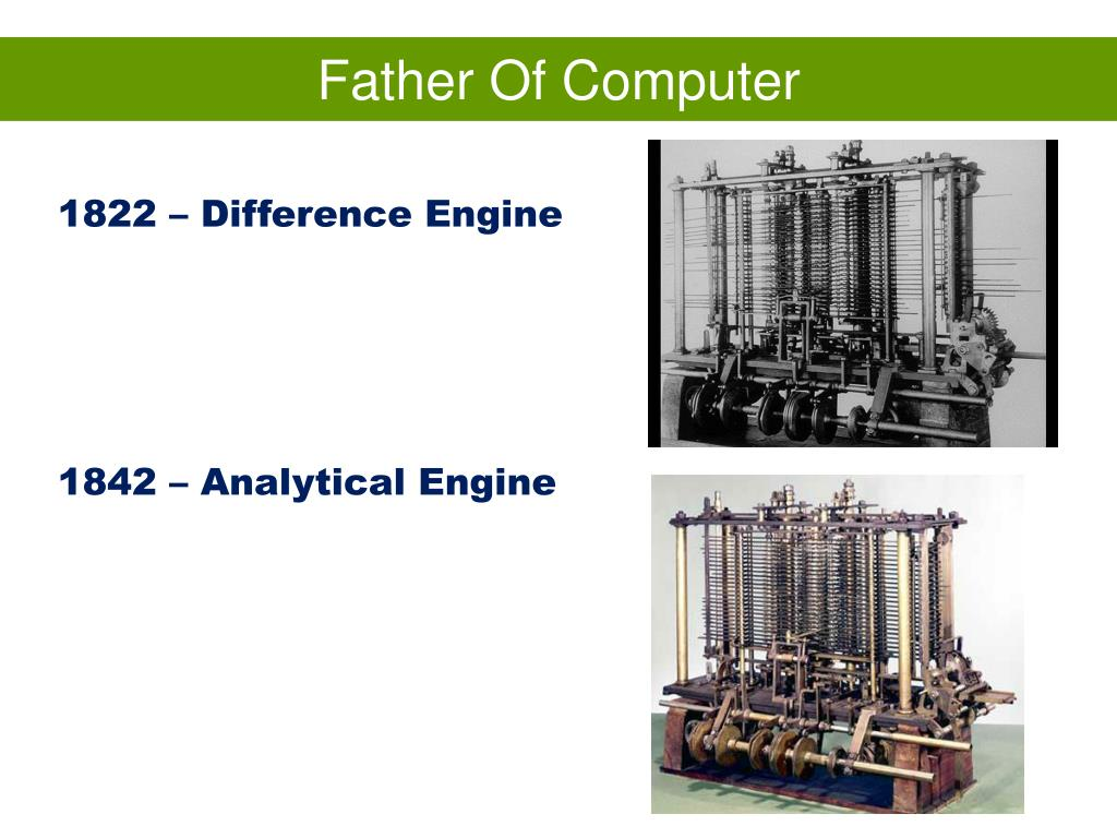 Father Of Computer