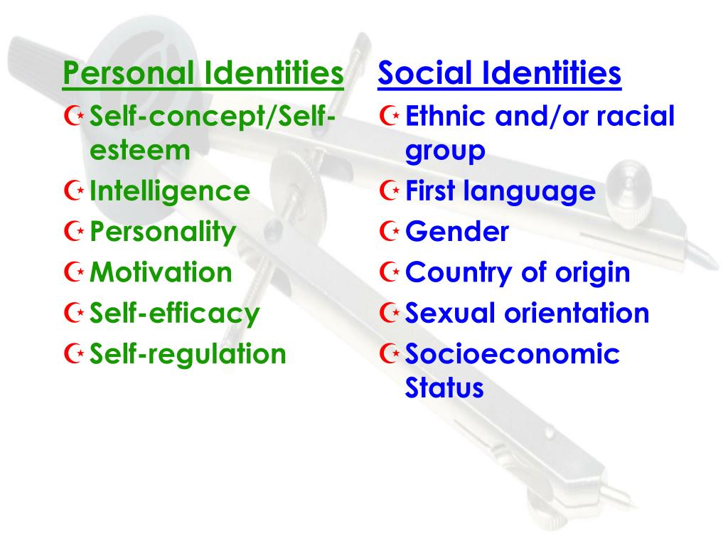 Personal Identities
