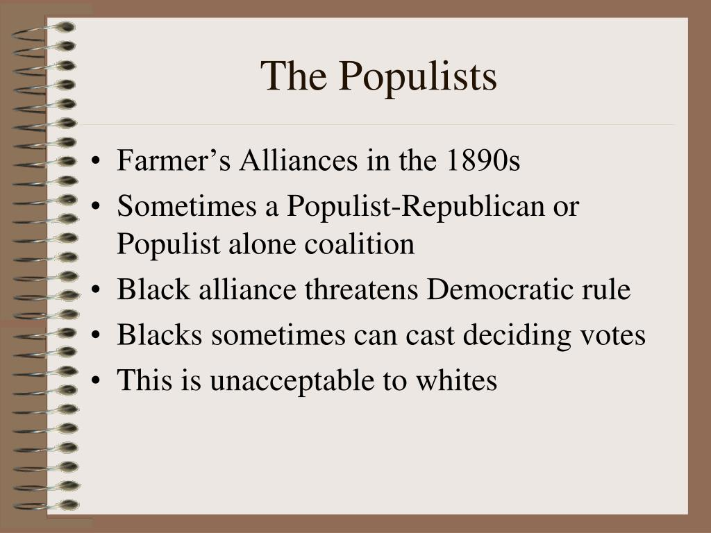 The Populists