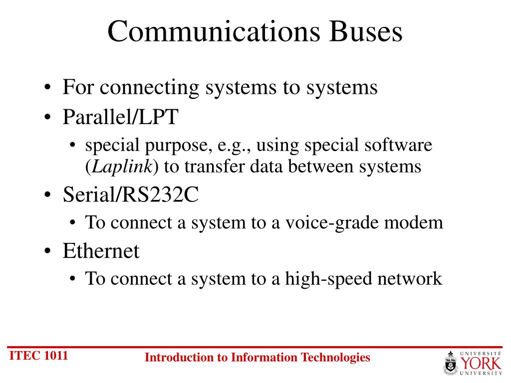 Communications Buses