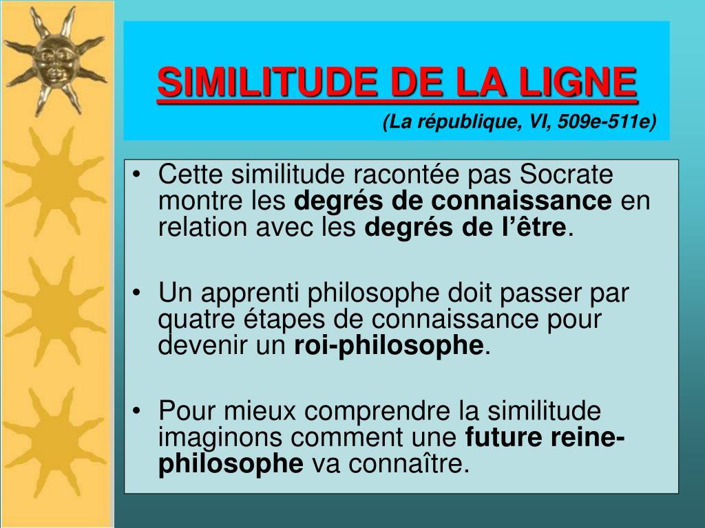 SIMILITUDE DE LA LIGNE