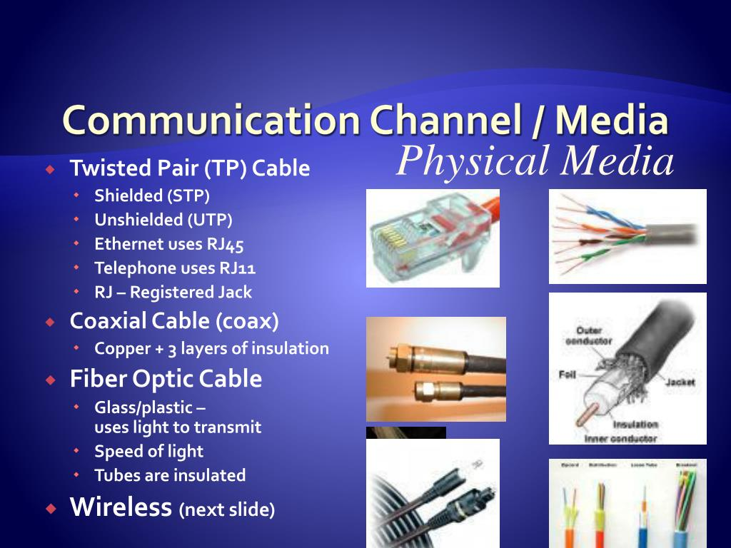 Communication Channel / Media