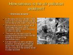 how serious is the air pollution problem12