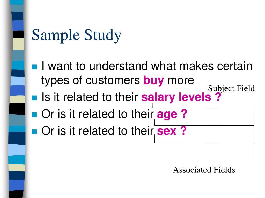 Sample Study