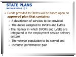 state plans section 4102 a c 2