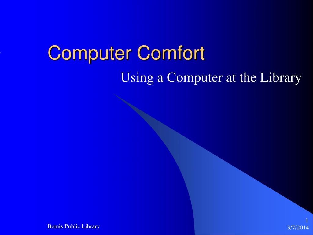 computer comfort l.