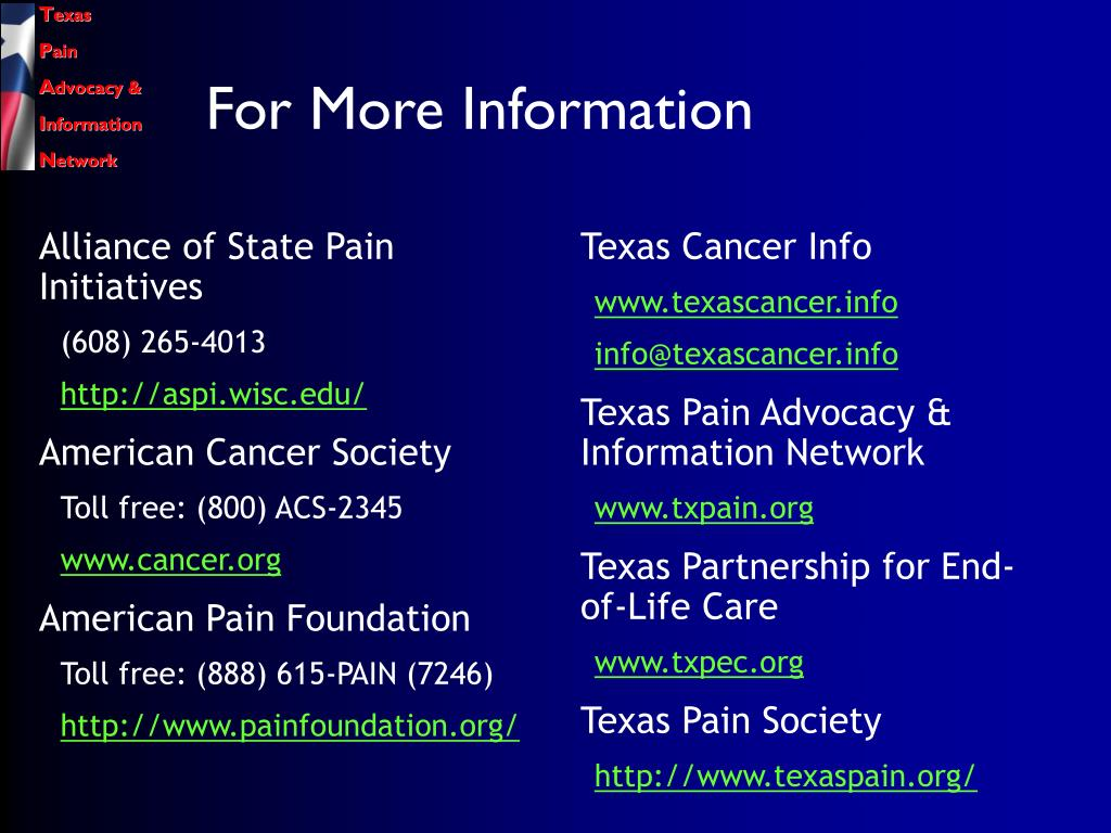 Alliance of State Pain Initiatives