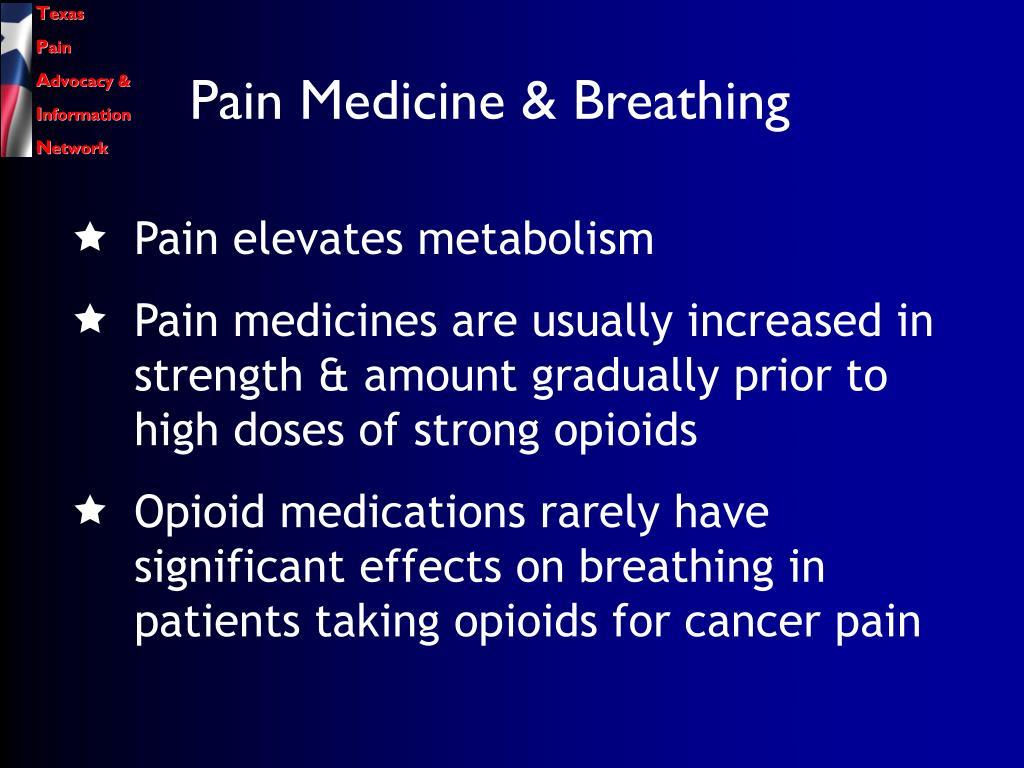 Pain Medicine & Breathing