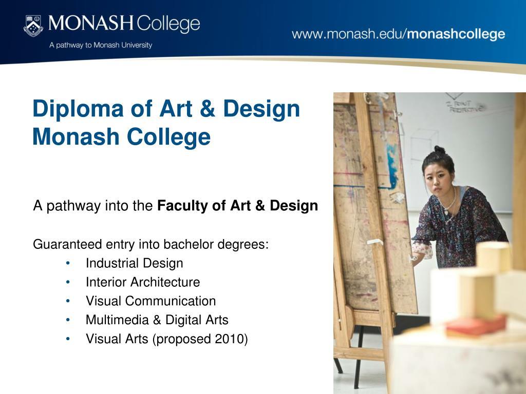 Diploma of Art & Design