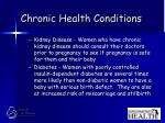 chronic health conditions40