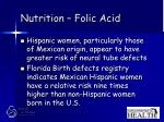 nutrition folic acid26