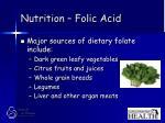 nutrition folic acid28