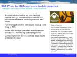 ibm ips on the ibm cloud remote data protection