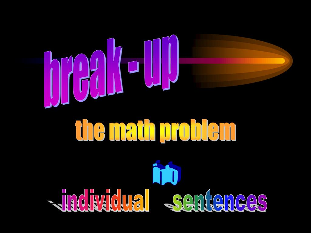 break - up