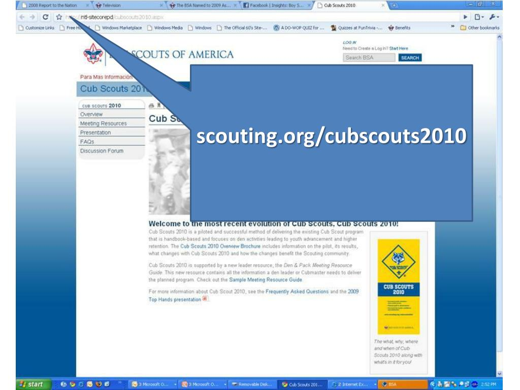 scouting.org/cubscouts2010