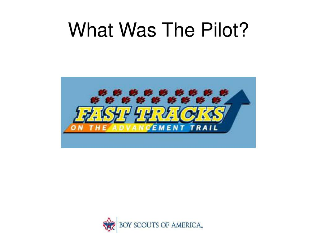 What Was The Pilot?