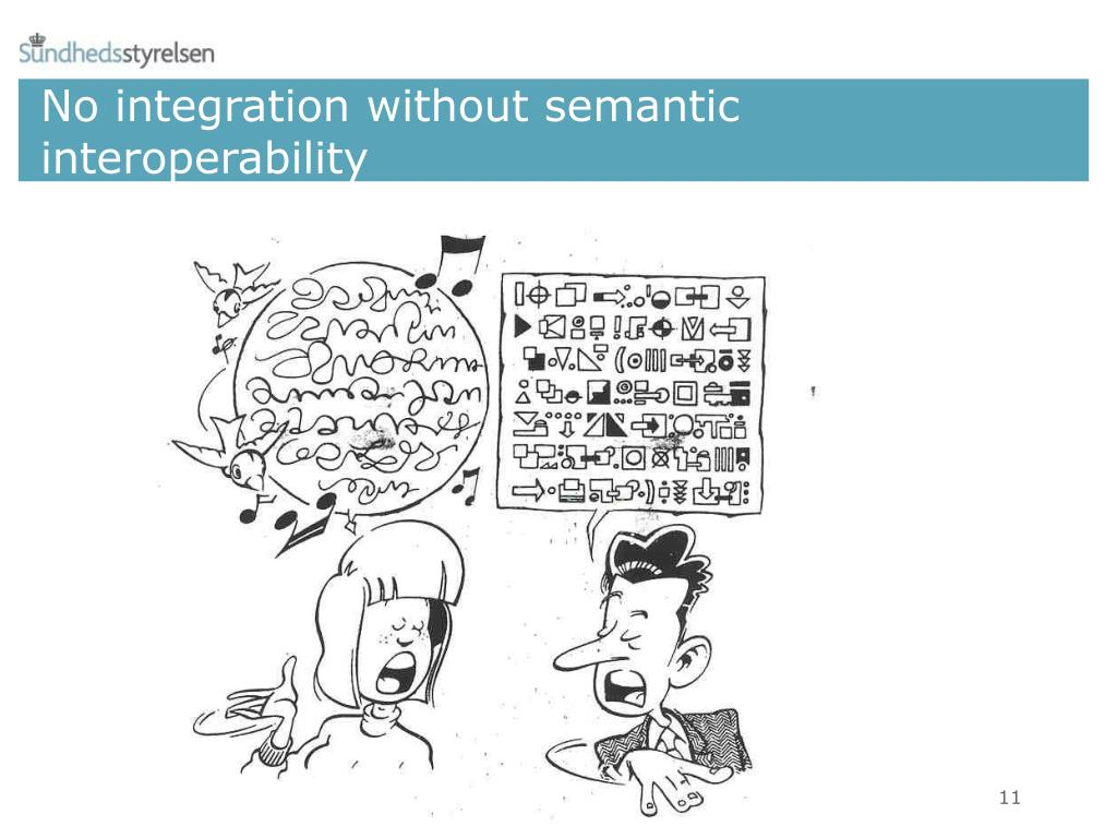 No integration without semantic interoperability