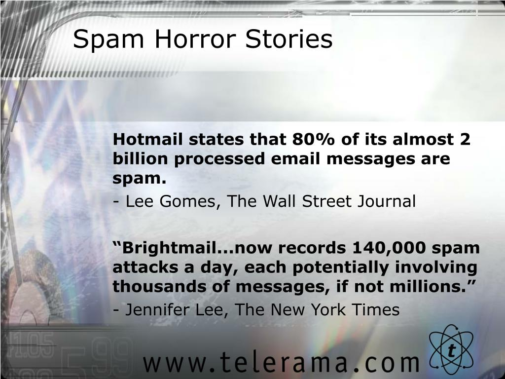 Spam Horror Stories