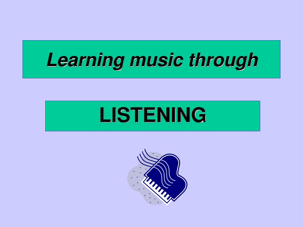 learning music through l.