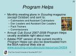 program helps